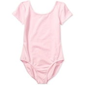 Danskin Girls' Short Sleeve Leotard