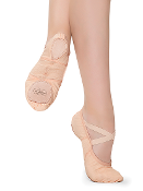 Revolution Dancewear Stretch Canvas Ballet Shoe