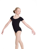 Revolution Dancewear Short Sleeve Scoop Neck