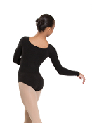 Revolution Dancewear Seamless Long Sleeve Scoop Neck